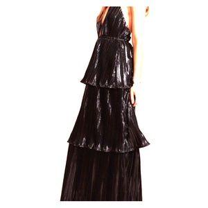 Lovely Midnight Kiss Maxi Dress